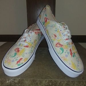 Vans Authentic Little Mermaid Ariel Disney